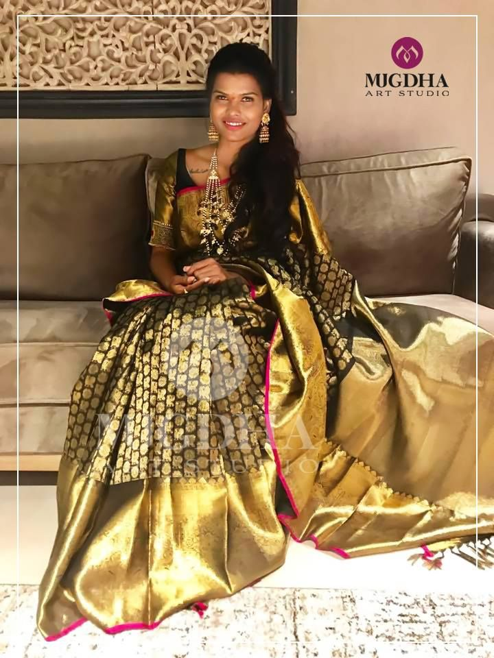 Women's Clothing Objective Bollywood Pakistani Designer Party Wear Cotton Silk Saree Ethnic Kanchipuram Sc