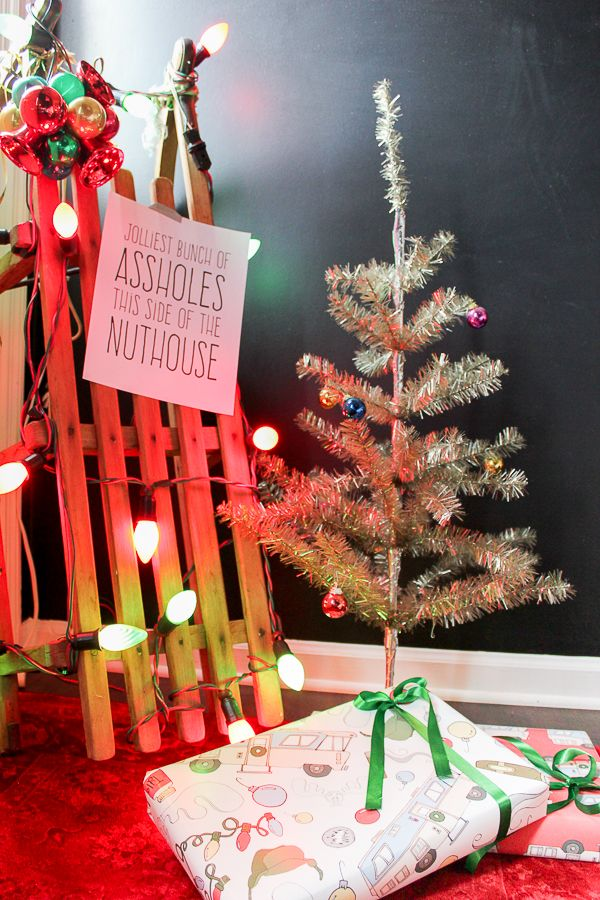a colorful christmas home tour - National Lampoons Christmas Decorations