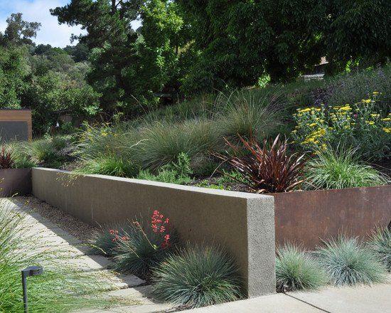90 Retaining Wall Design Ideas For Creative Landscaping Modern Landscaping Modern Garden Small Back Gardens