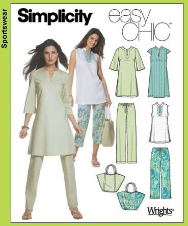 Purchase the Simplicity 5069 sewing pattern and read its pattern ...