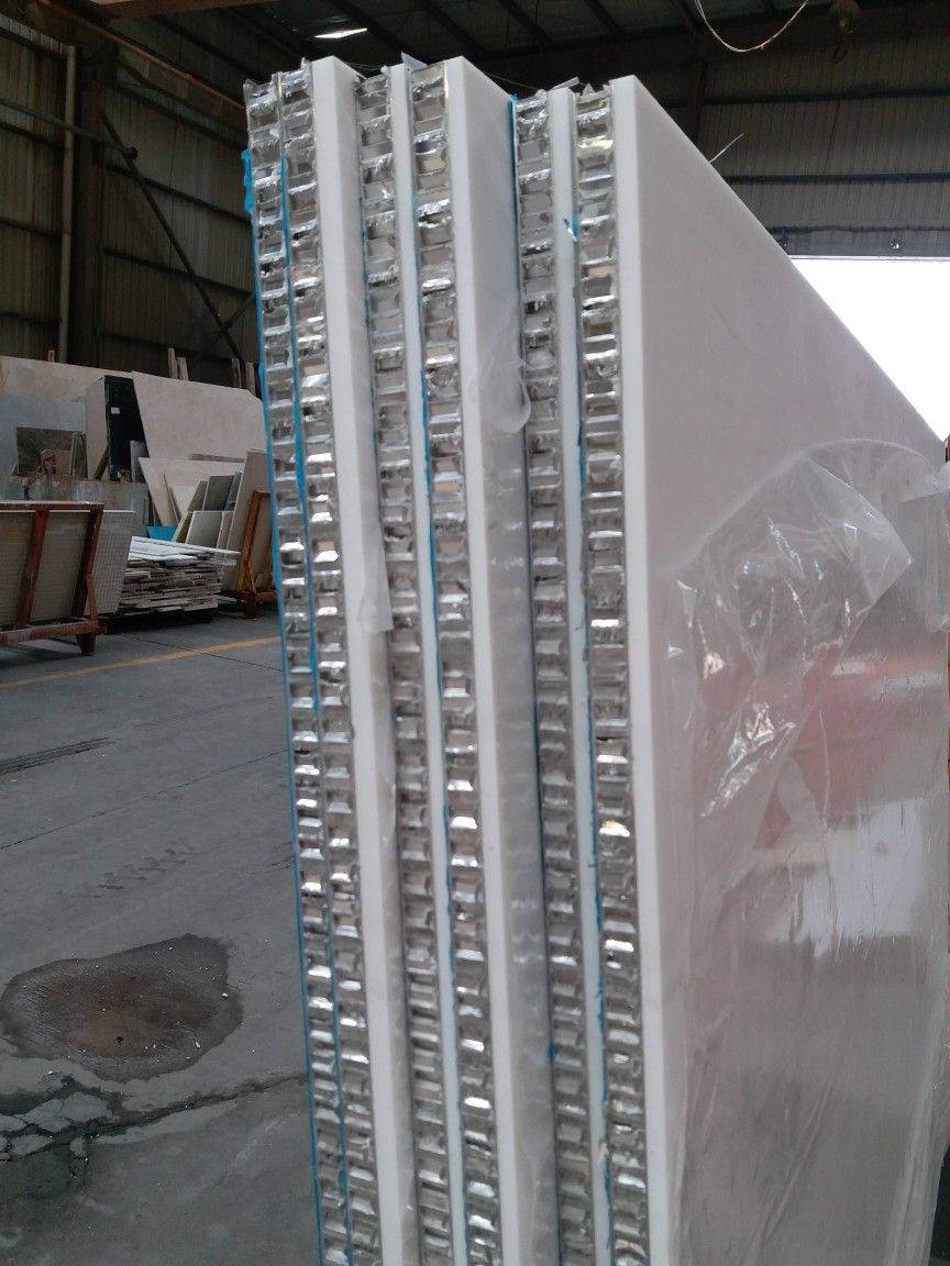 5mm Marble Laminated 20mm Aluminum Honeycomb Panel For Wall Cladding