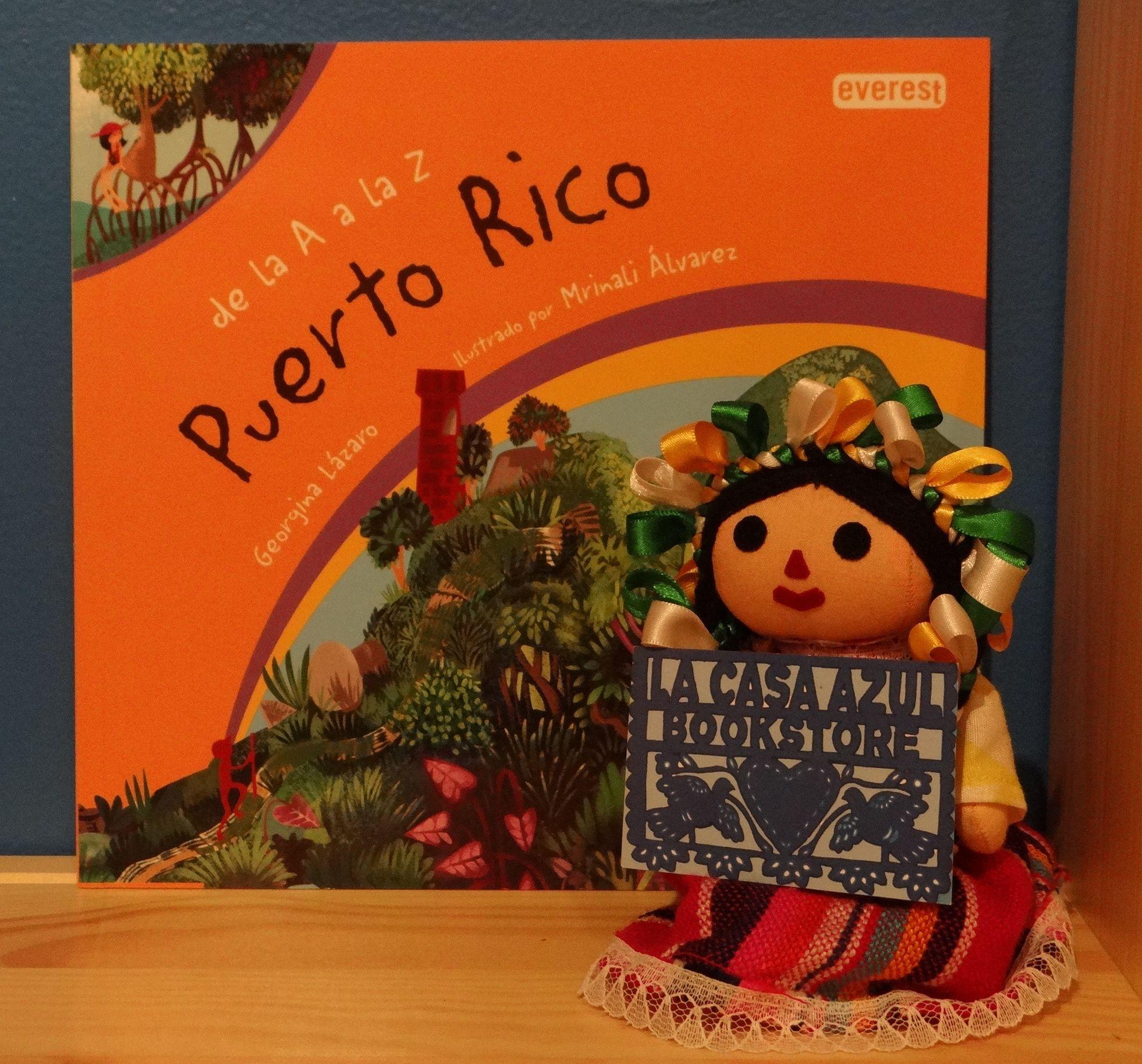 De la A a la Z Puerto Rico Beautiful Bilingual libros that celebrate our cultura
