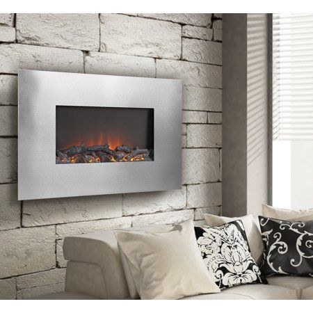 Home Improvement Wall Mount Electric Fireplace Home Home Decor Outlet
