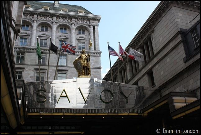the savoy hotel art nouveau and art deco buildings in the uk