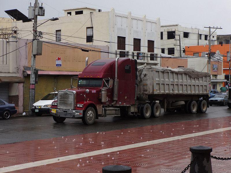 Freightliner with dump trailer | by RD Paul