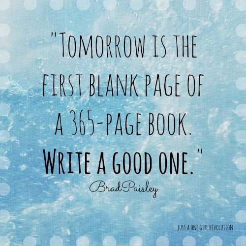What a wonderful way to think about a new year! Have a ...