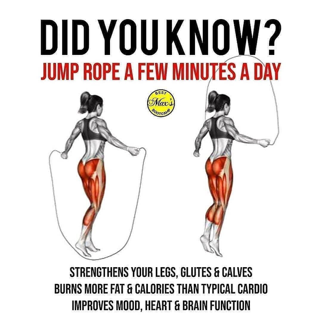 Did You Know In 2020 Jump Rope Benefits Jump Rope Workout Memes
