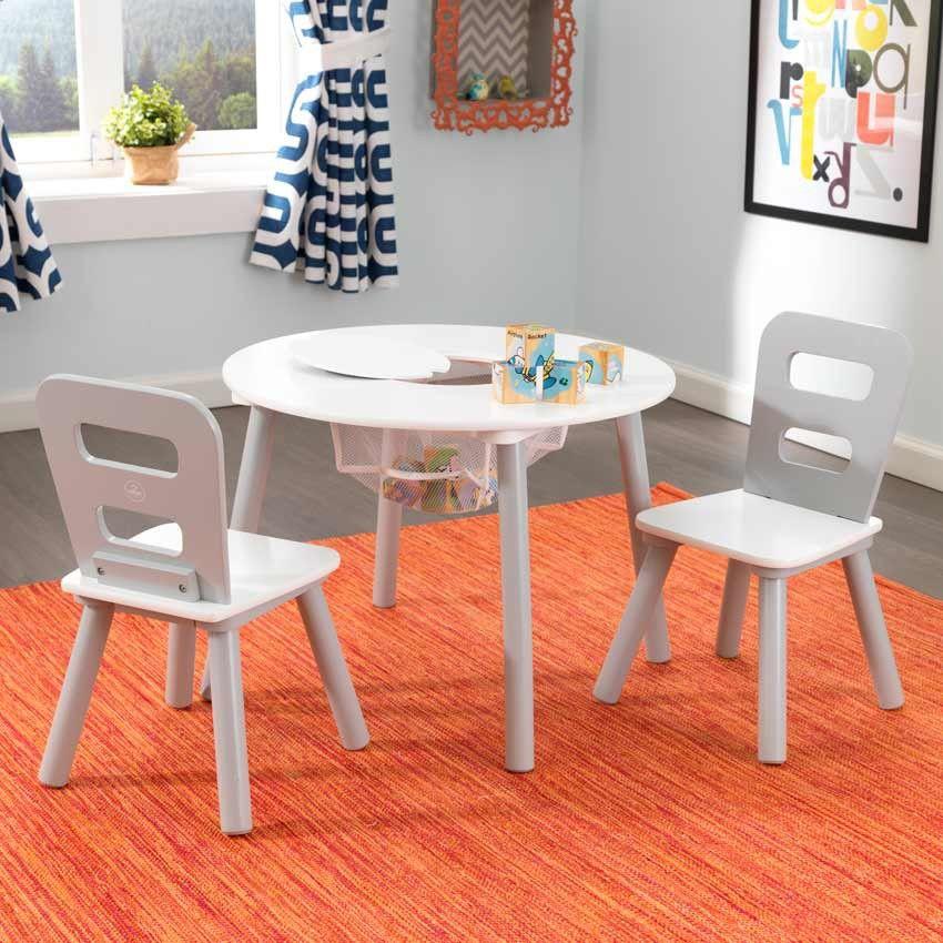 ensemble chaises et table ronde gris pinterest chaise grise les affaires et table ronde. Black Bedroom Furniture Sets. Home Design Ideas