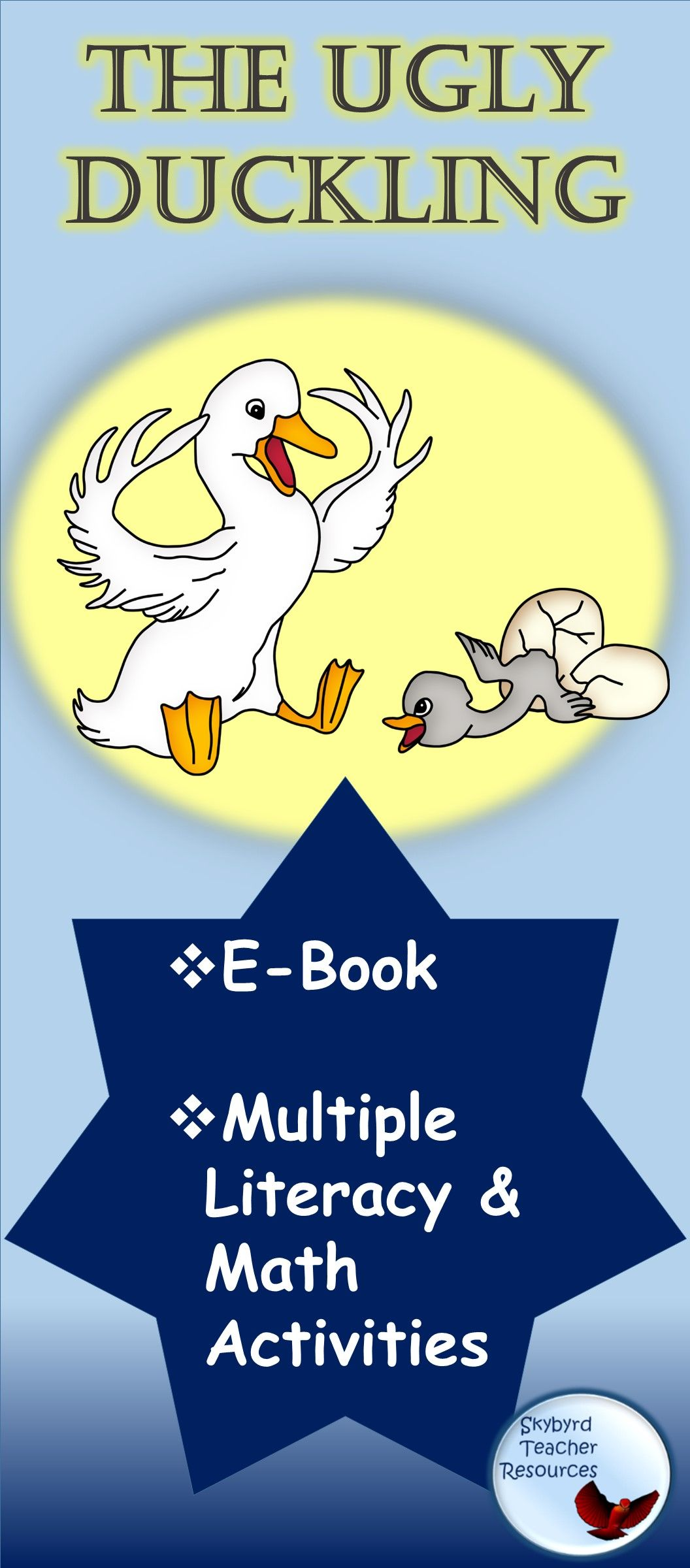 The Ugly Duckling Fable Literature And Math Activities