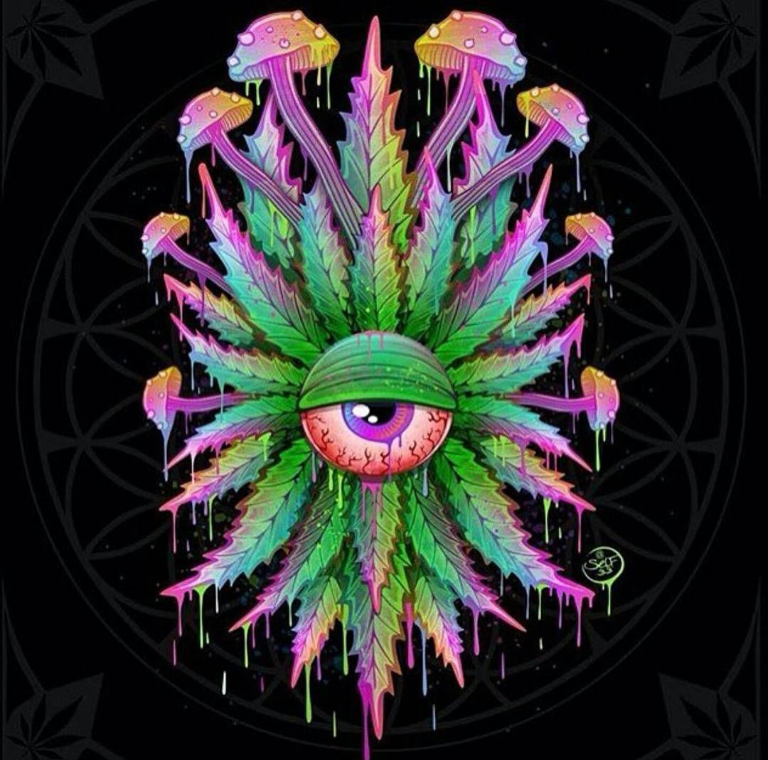 chill. | Trippy @rt | Pinterest | Psychedelic, Cannabis ...