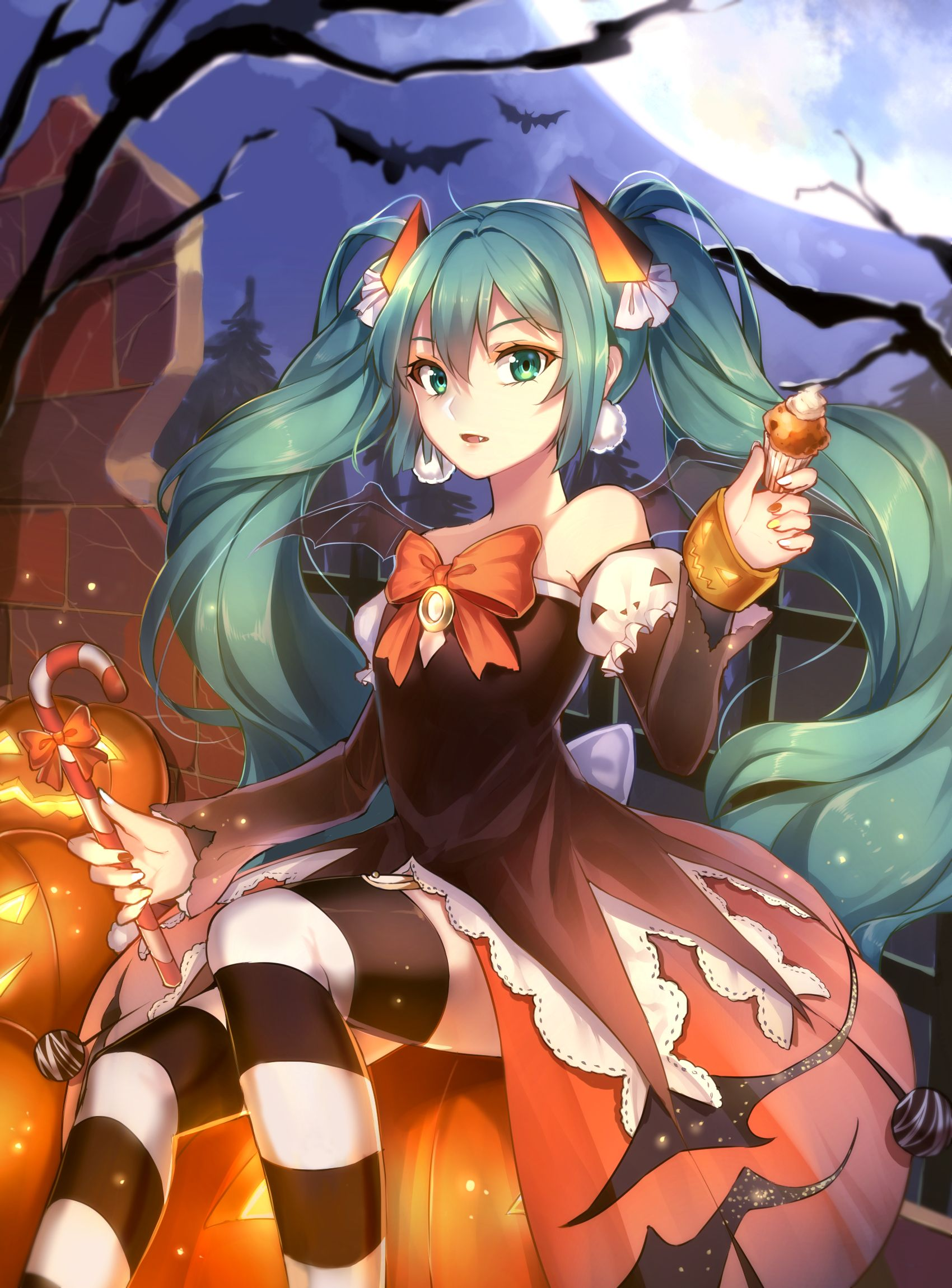 Happy Halloween! #halloween #vocaloid #miku | Vocaloid | Pinterest ...