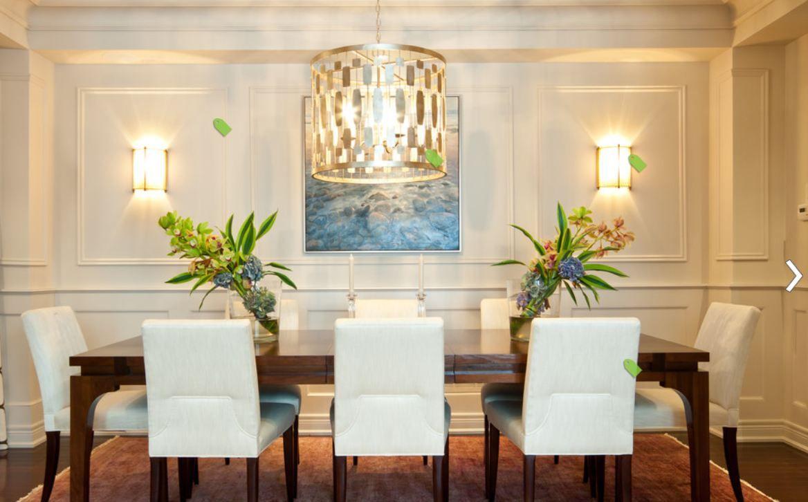 Winds Breath Oc 24 By Benjamin Moore Dining Room Wainscoting Dining Room Design Dining Room