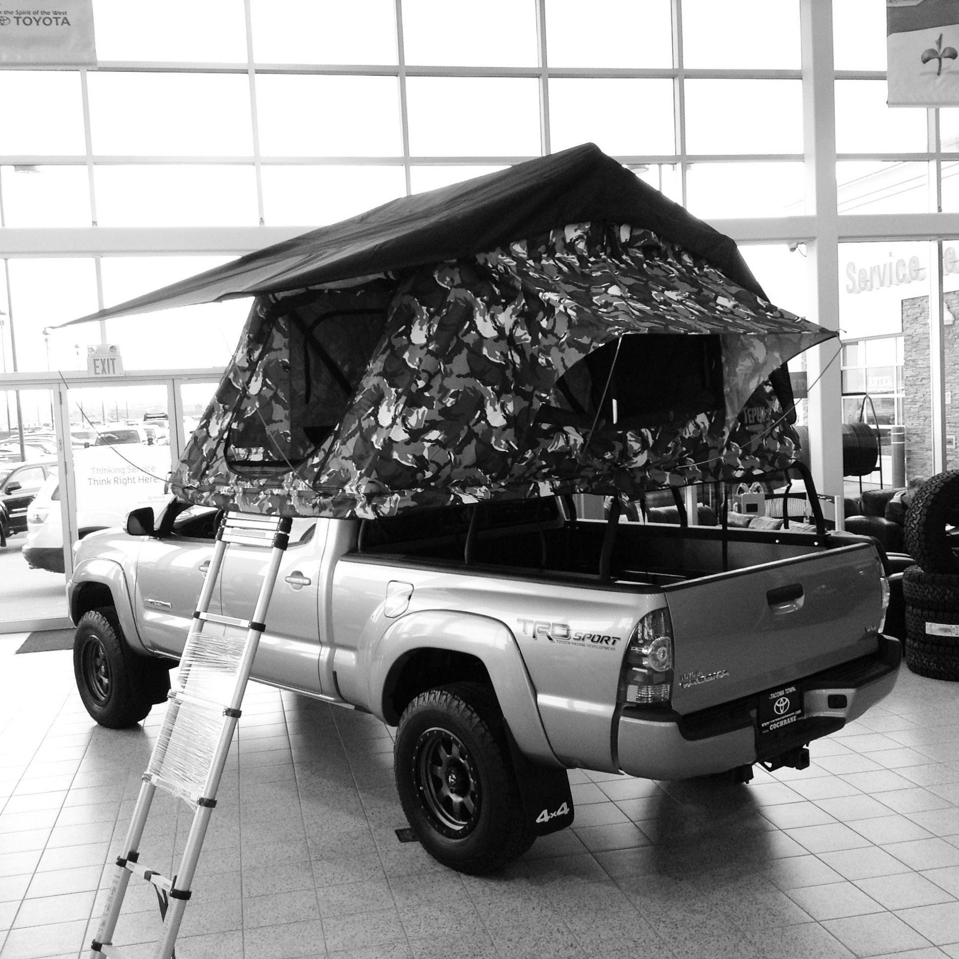 2015 Toyota Tacoma Doublecab V6 With Tepui Tent Stk 150005