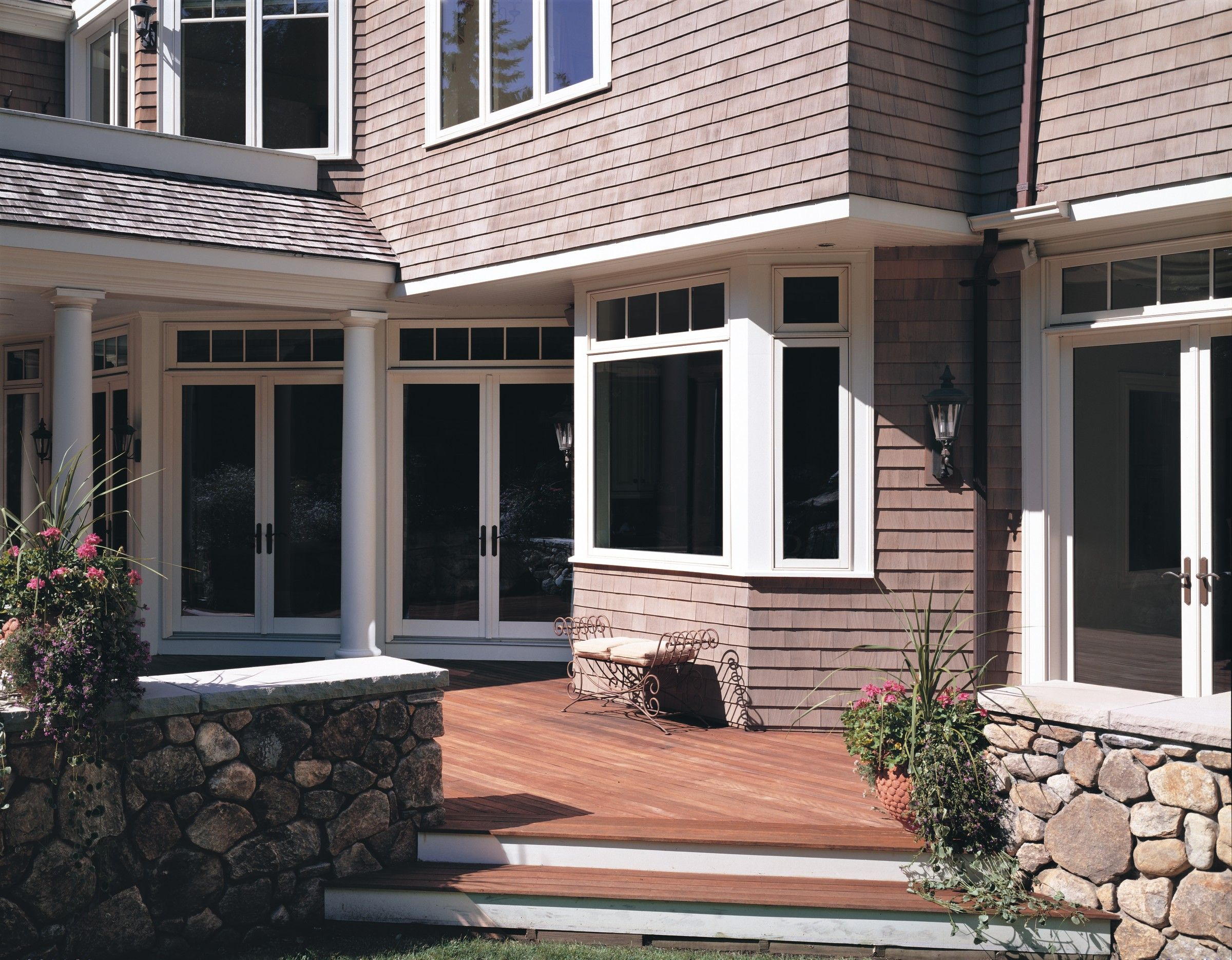 JELD WEN Patio Doors supplied by National Lumber Newton MA