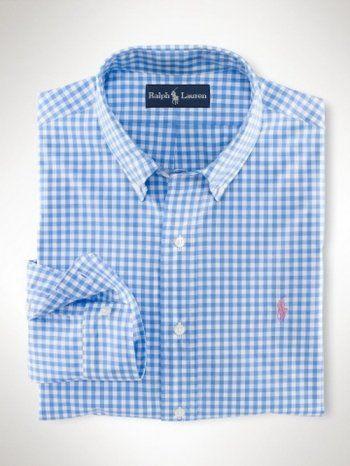 803840dcce camicia a quadri polo ralph lauren uomo rosa pony in bianco-azzu ...
