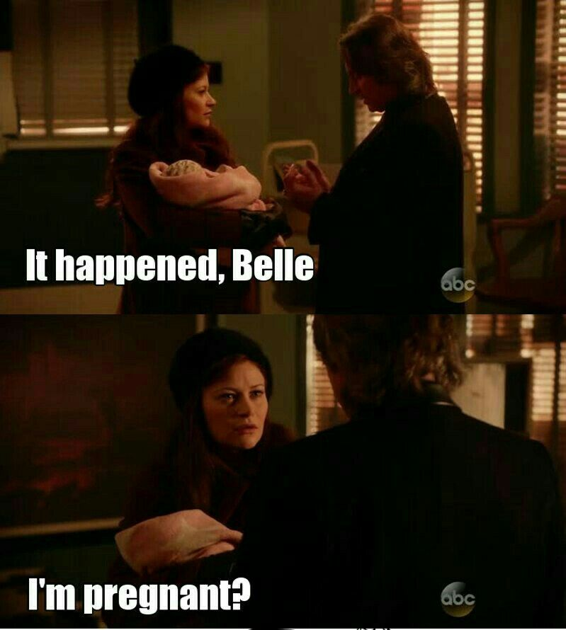 """#OnceUponATime 5x16 """"Our Decay"""" - Belle and Rumple"""