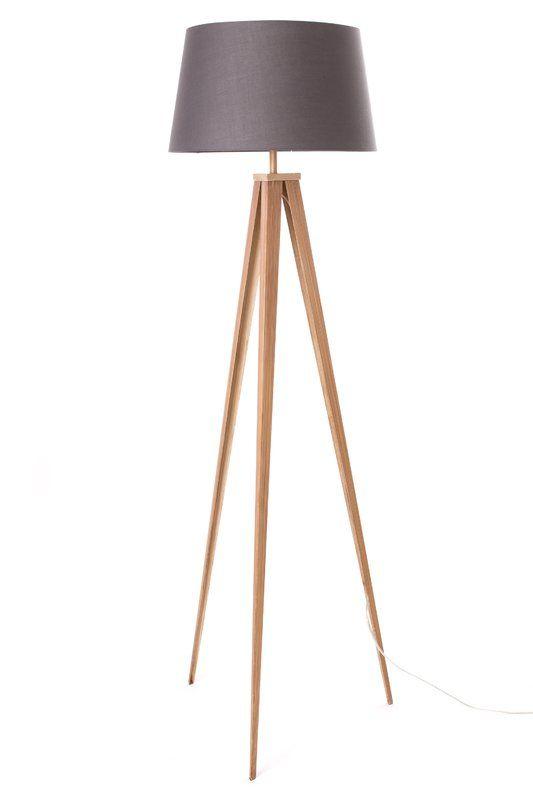 Alresford 60 Quot Tripod Floor Lamp Floor Lamp Wood Floor