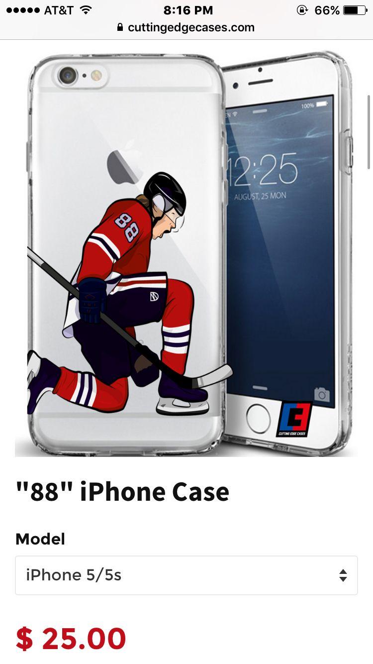 """Chicago Blackhawks phone case """"88"""" Patrick Kane"""