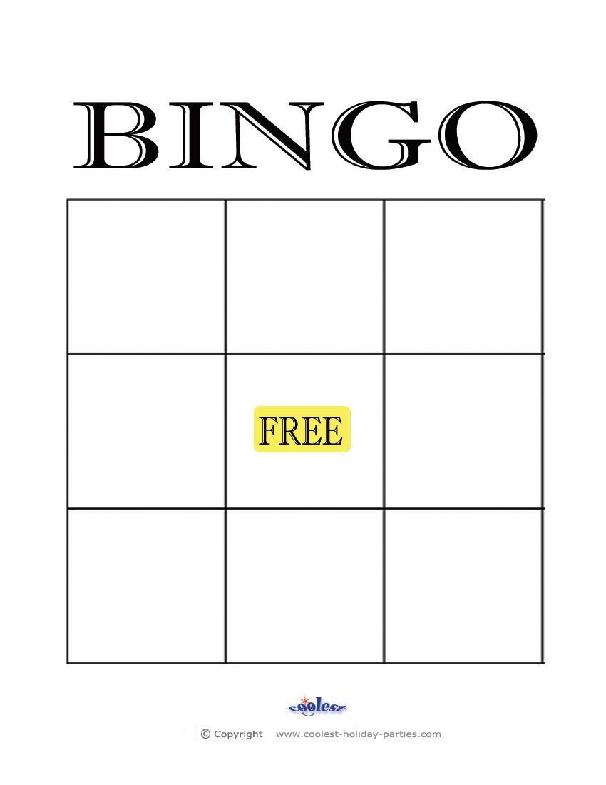 The Appealing 004 Blank Bingo Card Template Stirring Ideas