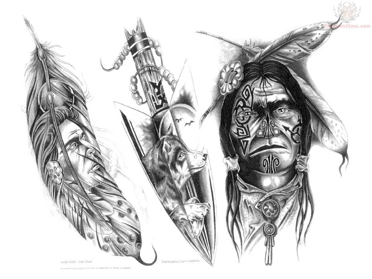 American Indian Girl Tattoo Best Images Collections HD