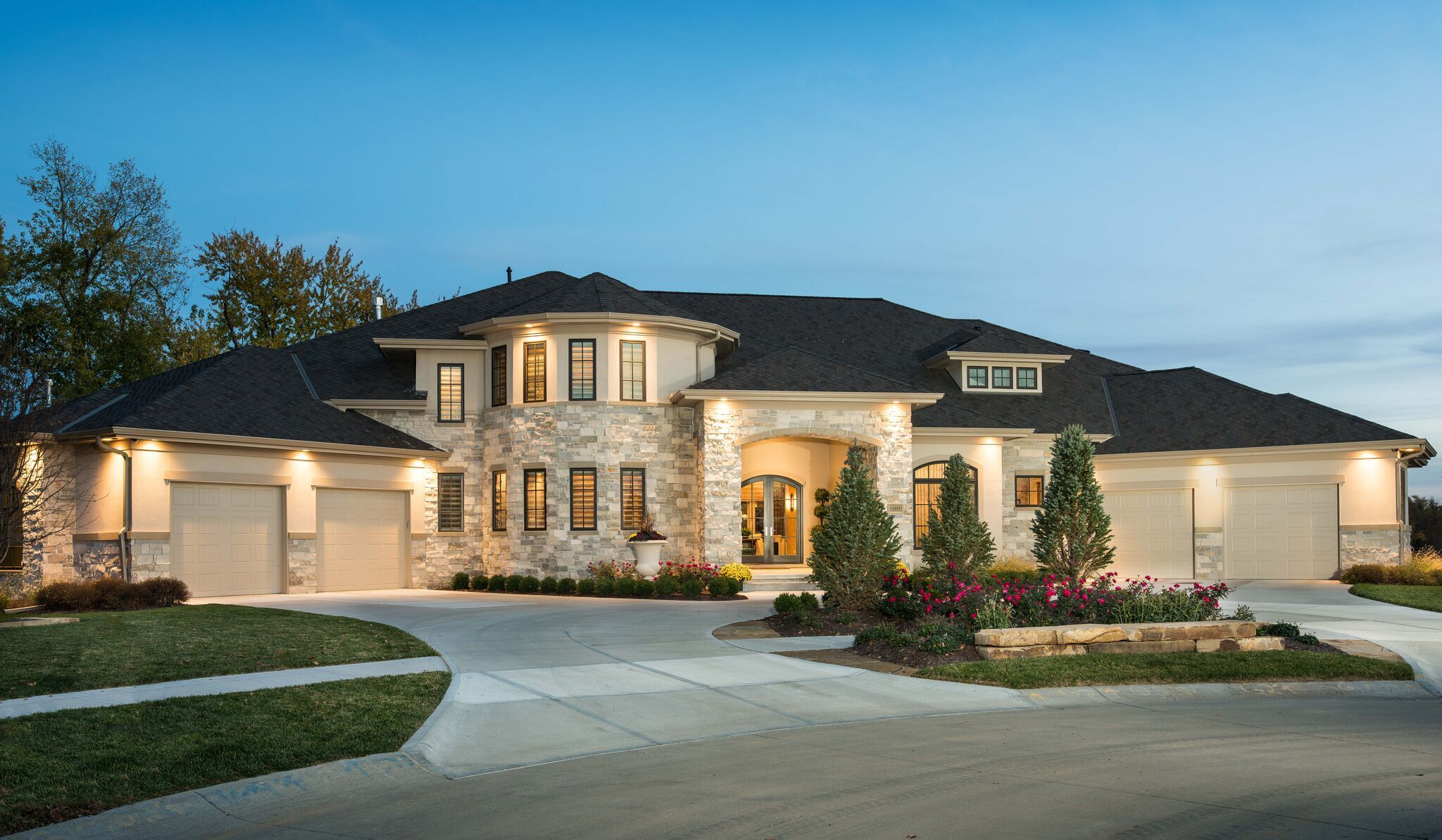 Custom home designed by advanced houseplans built bloomfield homes also rh pinterest