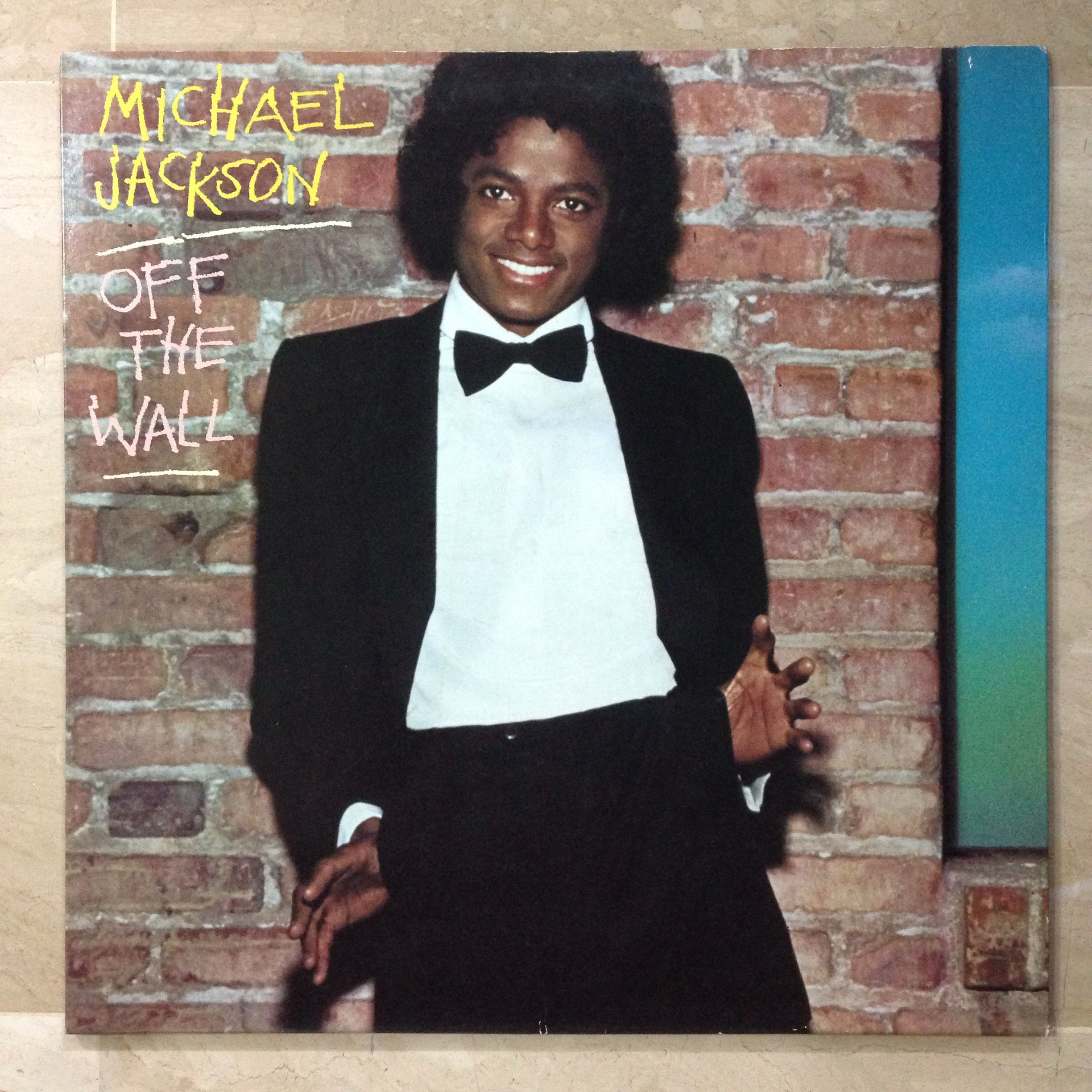 Michael Jackson Off The Wall Lp 1979 Front View Michael