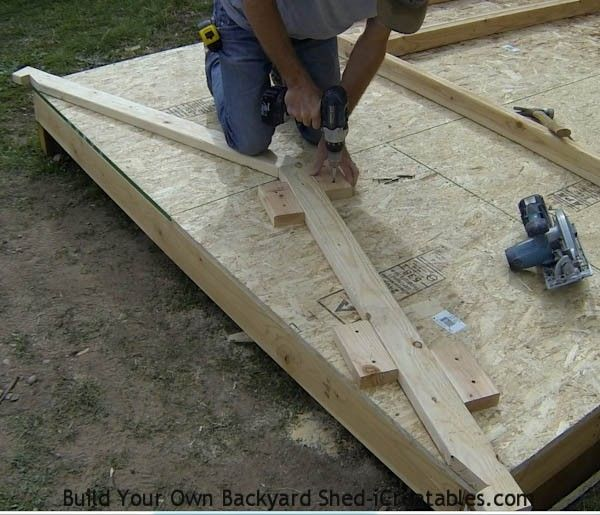 Shed Plans - How to Build a Shed With iCreatables - DIY Storage ...