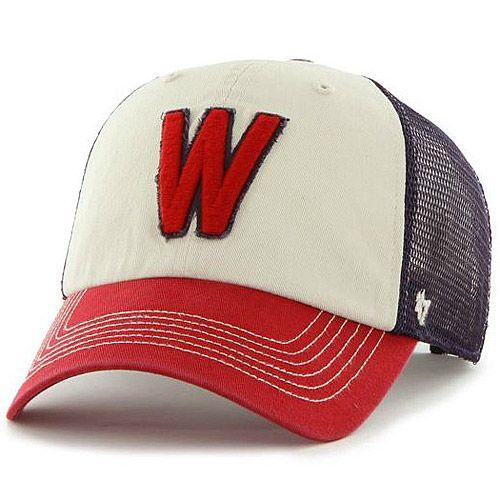 2409e38c08c61 Washington Senators Cooperstown Schist Clean Up Adjustable Cap by  47 Brand  - MLB.com Shop