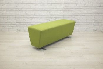 Used Tandem 2-seat bench by Edge Design. Can be re-upholstered if required*