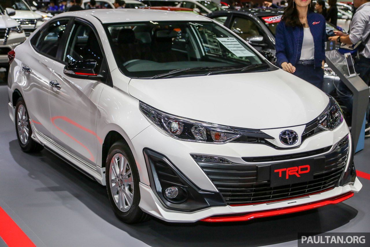 Trd Variant Of The India Bound Toyota Yaris Unveiled In Thailand Yaris Trd Toyota