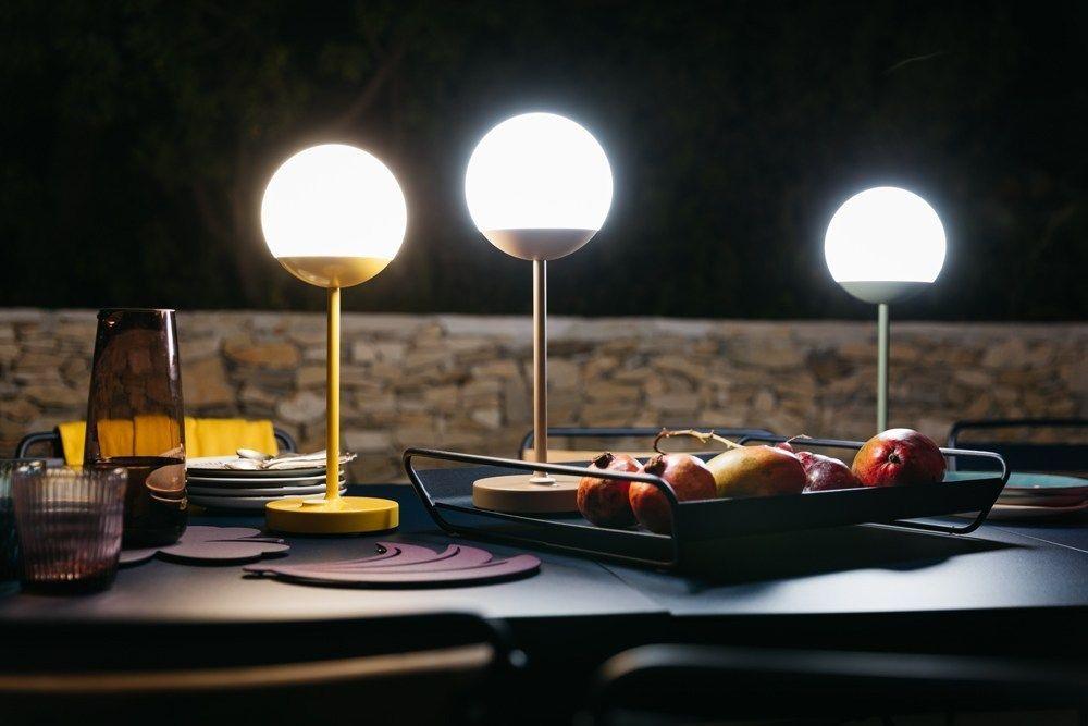 Lampade senza fili a batteria ricaricabile per il giardino
