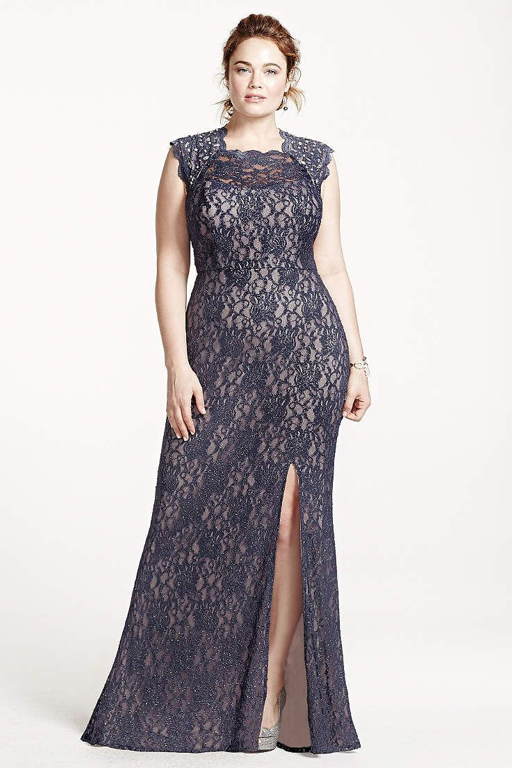 Find the perfect women\'s plus size dresses at David\'s Bridal for any ...
