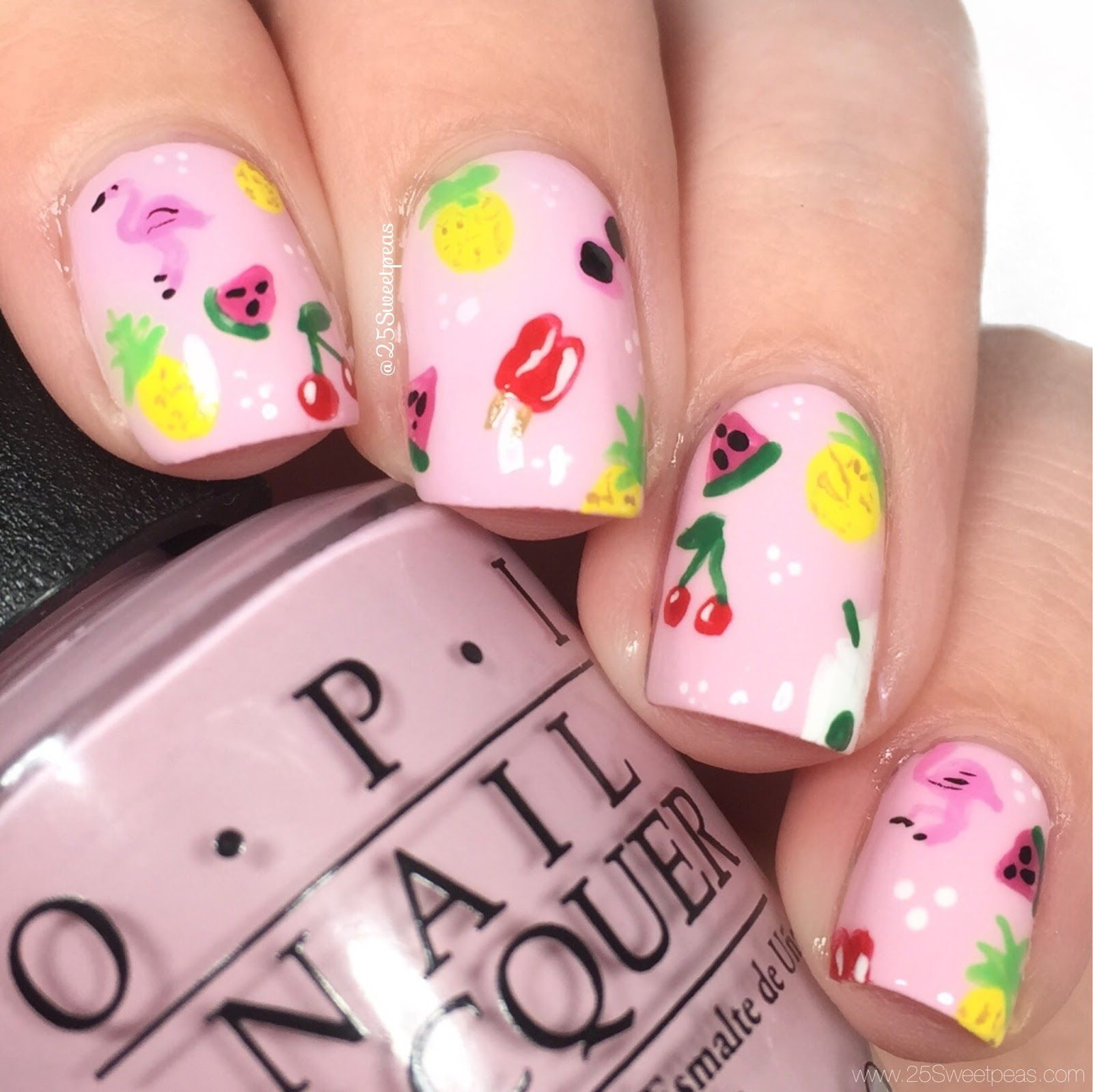 Ban Dō Starbucks Inspired Nails 25 Sweetpeas Nails Nail Colors Nail Art