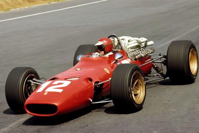 1967 Mexico-City Ferrari 312-67 Jonathan Williams
