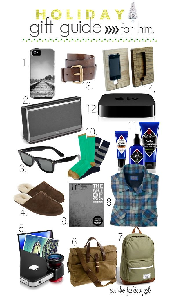 christmas gift guide for him - Best Christmas Presents For Him