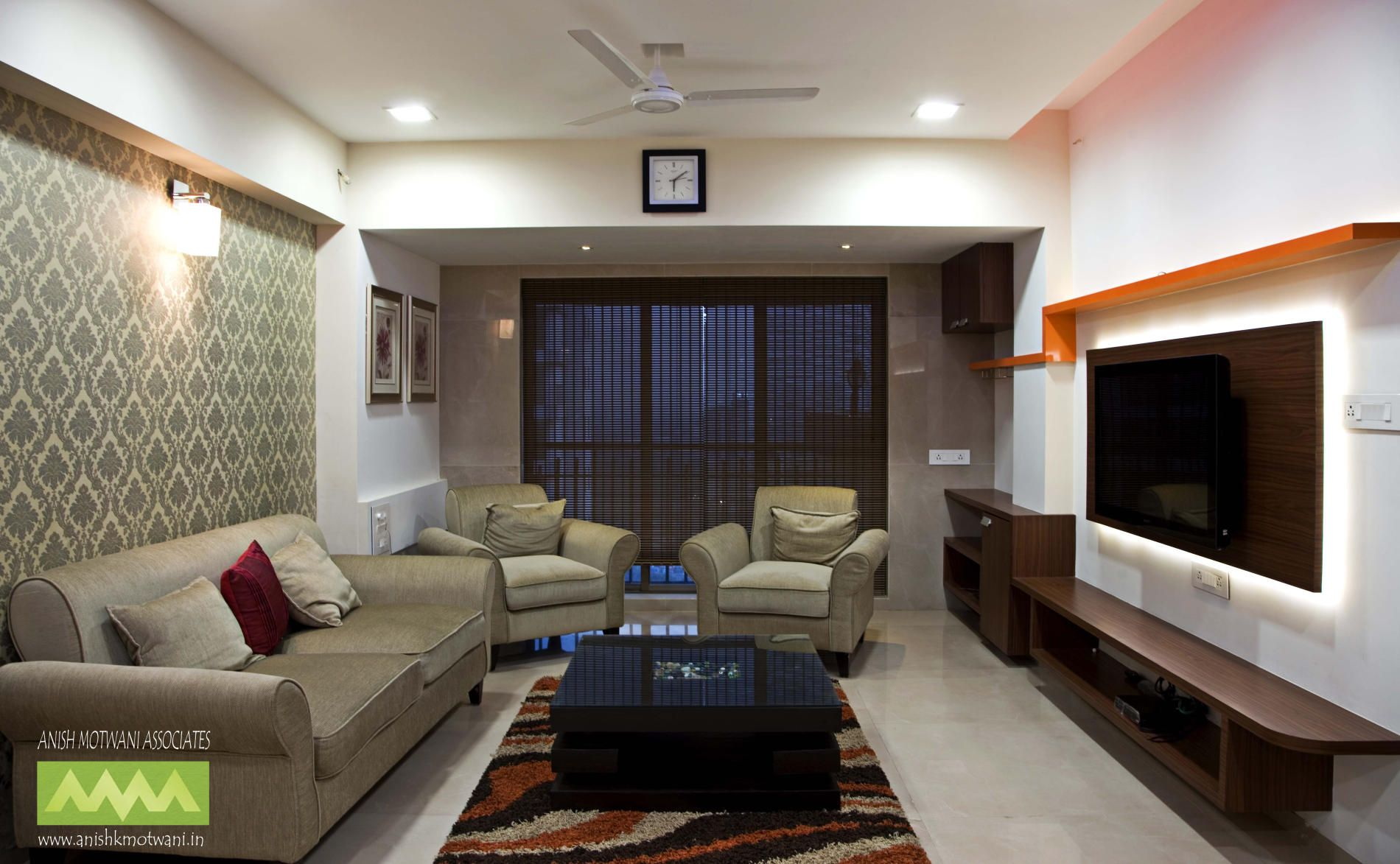 Indian interior design for small living room