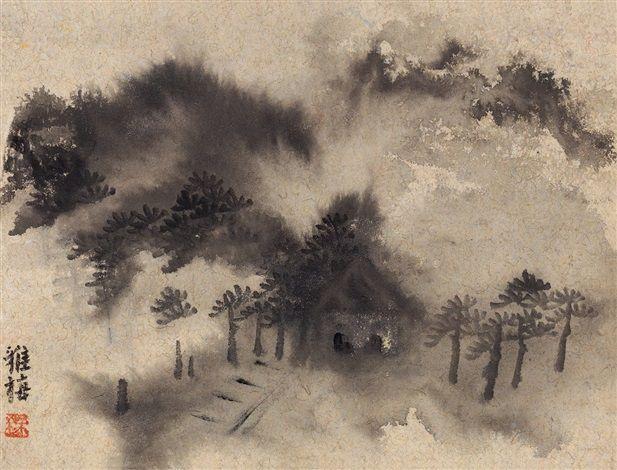 山水 by zhu yamei