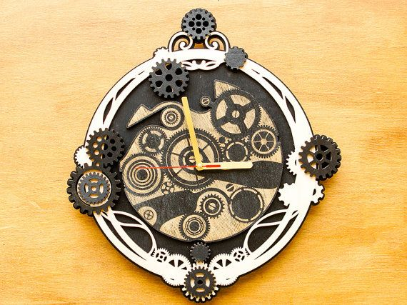 Unique Wall Clock Steampunk Clock Mechanism Gear Clock Wall Clocks Industrial Decor Birthday Gift Idea Housewarming Gift Gift For Him Looking For Somet
