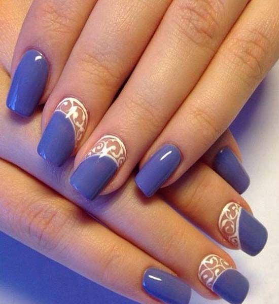 A beautiful Purple nail art design 2017 | Nail Art | Pinterest ...