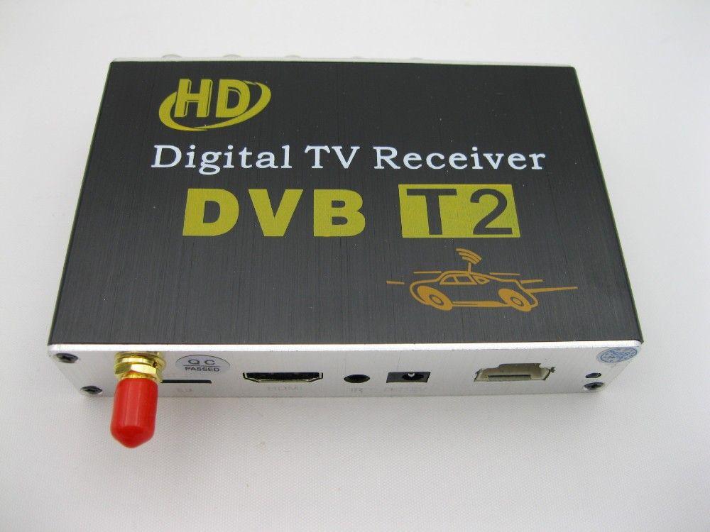 Hot 4K DVB T2 H.264  MPEG4 Mobile Digital TV Box External USB DVB-T2 Car TV Receiver Russian&Europe&Southeast Asia #Affiliate