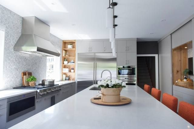 Best Lemon Tree Uses Neutral London Grey Countertops To 400 x 300