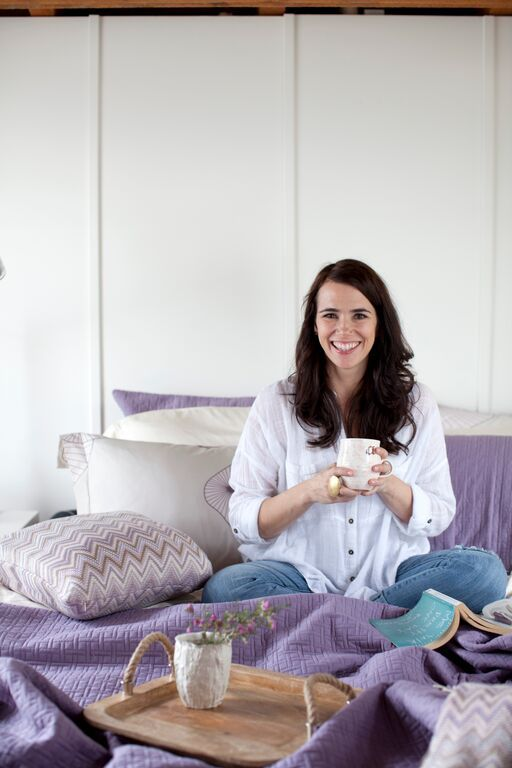 CALMING LAVENDER BEDROOM TOUR WITH AMI MCKAY | Best Friends For Frosting