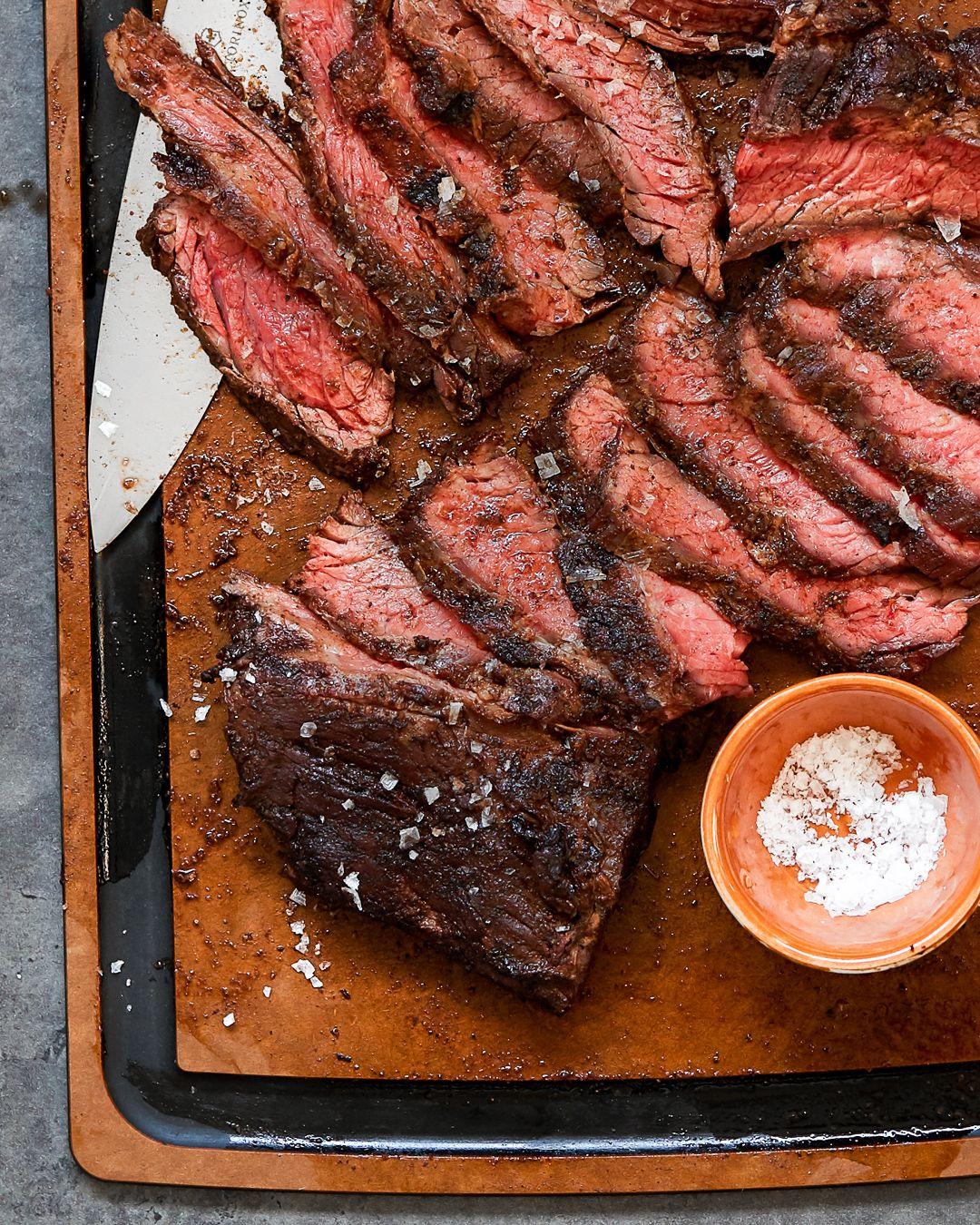 Coffee rub grilled steak paleo primalgourmet recipe