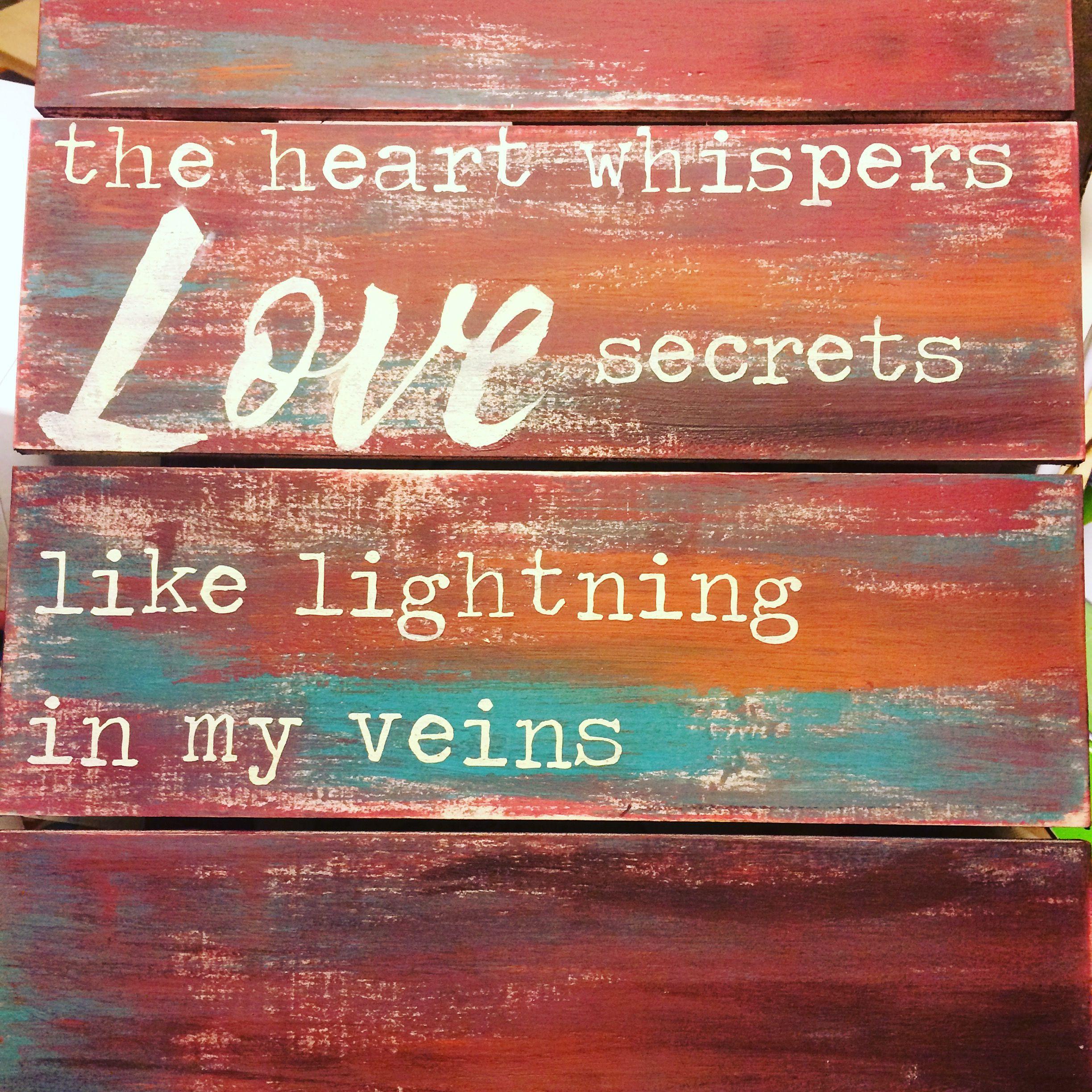 #TishaGoodall #art #acrylic #painting #sign #LOVE