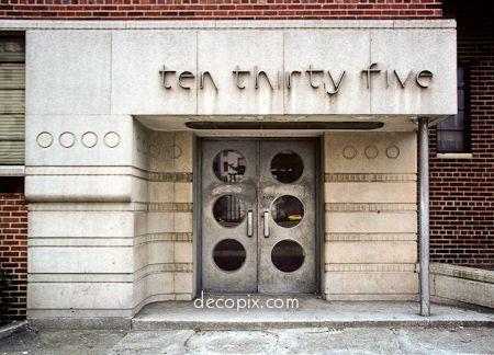 Decopix - The Art Deco Architecture Site - Streamline Moderne Gallery