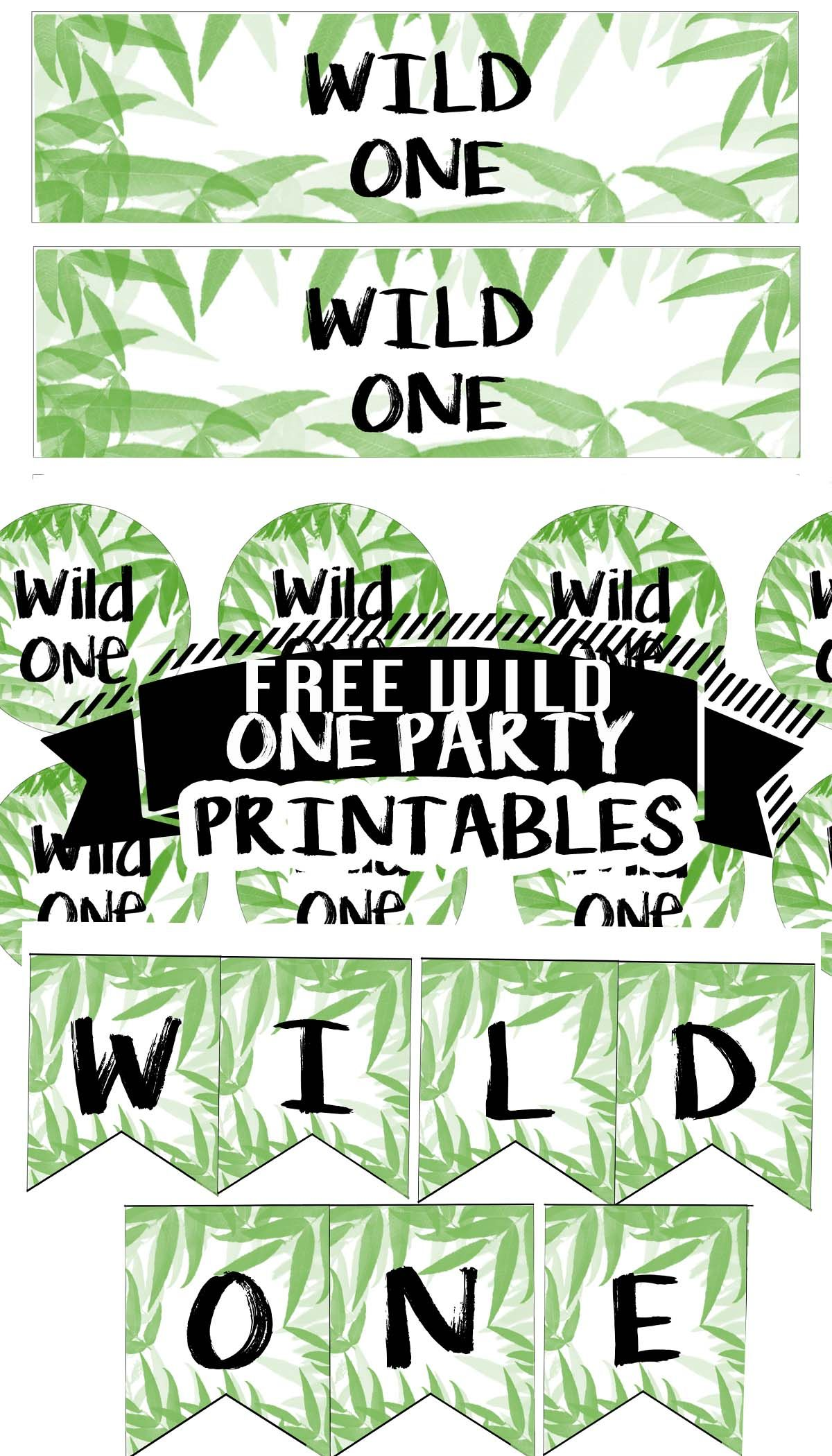 Pin on trendy party printables