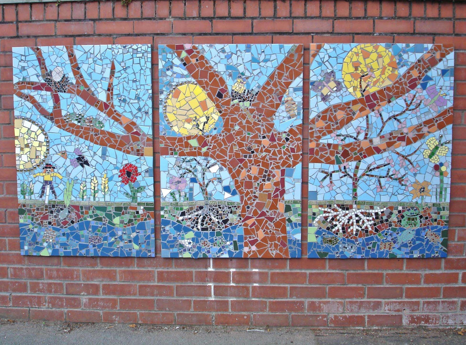School Mosaic Projects
