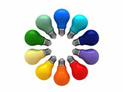 Colored Light Bulbs colors | my office | pinterest | light bulb, bulbs and 252 basics