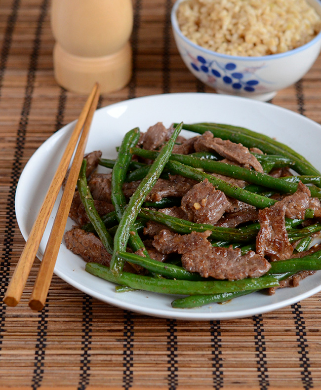 Photo of Vietnamese Beef and Green Bean Stir-fry — Appetite for China