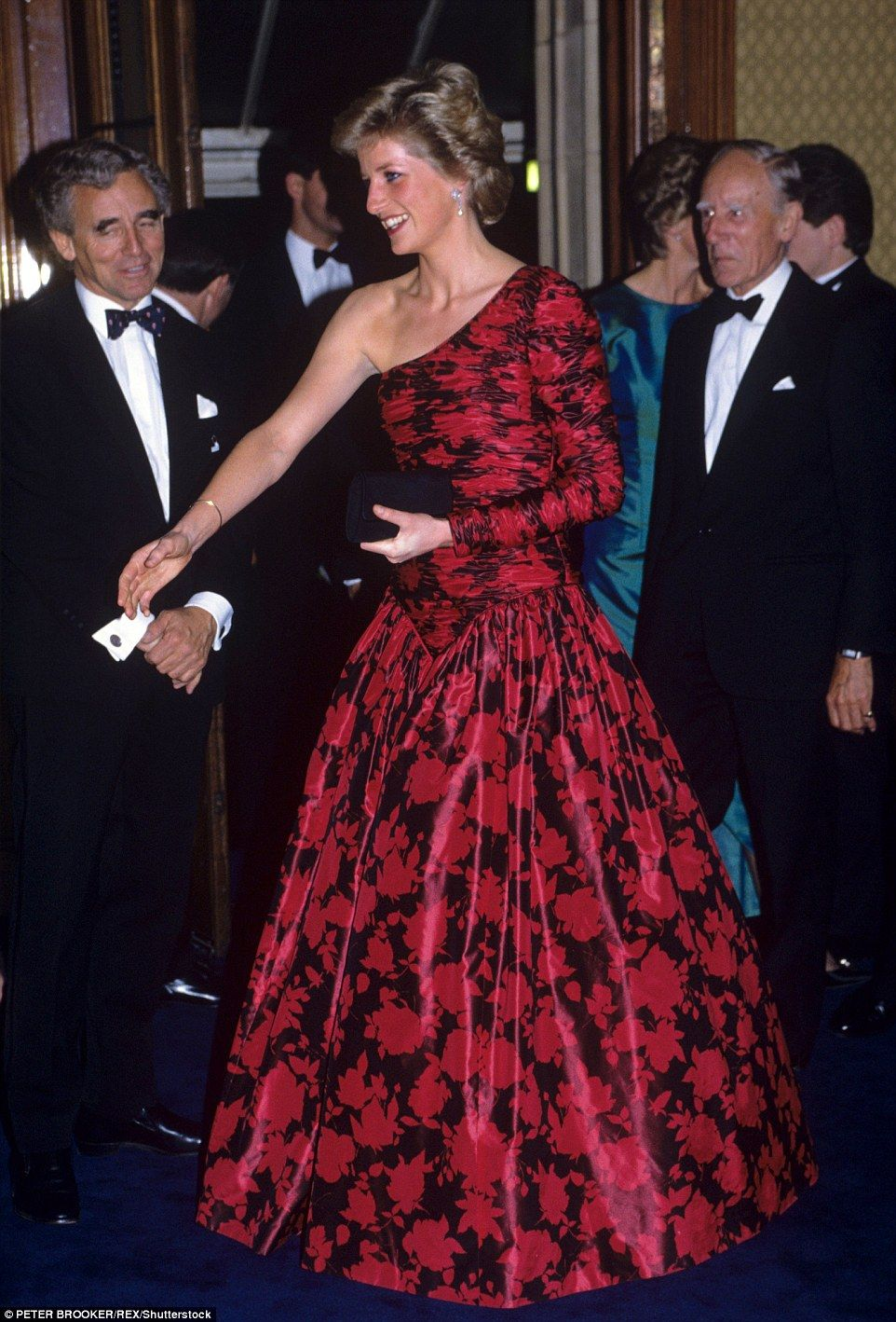 How Diana invented modern red carpet glamour Princess